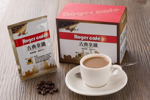 商務包裝 Business Package: Roger Cafe 古典拿鐵 3 合1 咖啡. 含糖.含奶. (500g/盒) Classic Latte Coffee 3 in 1 Instant Coffee (500g/box)